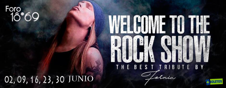 WELCOME TO THE ROCK SHOW  JUNIO