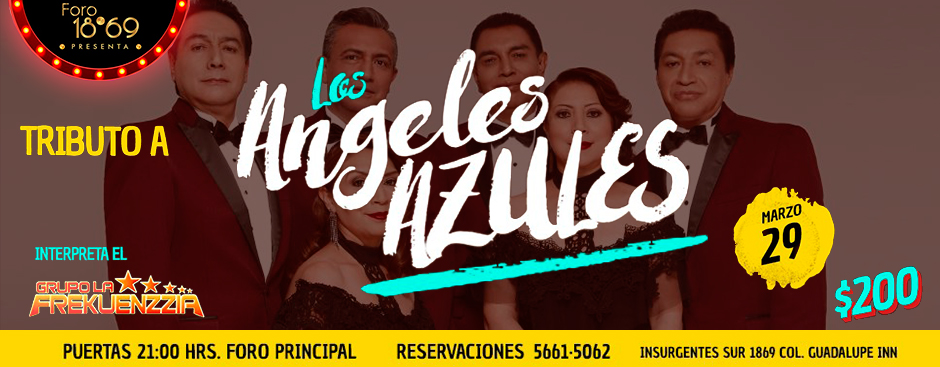 TRIBUTO A  LOS ANGELES AZULES