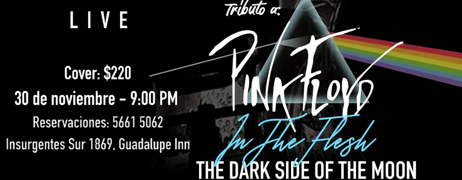 TRIBUTO A PINK FLOYD IN THE FLESH